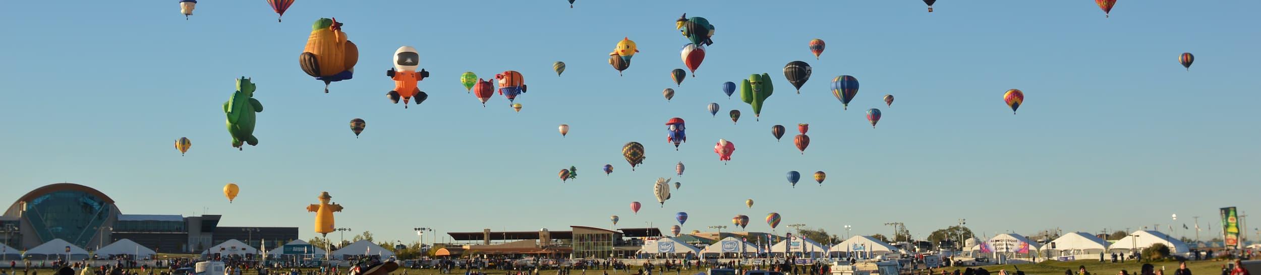 Pictured: skyline of Albuquerque