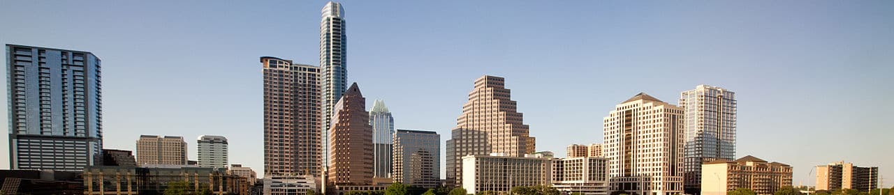 Pictured: skyline of Austin