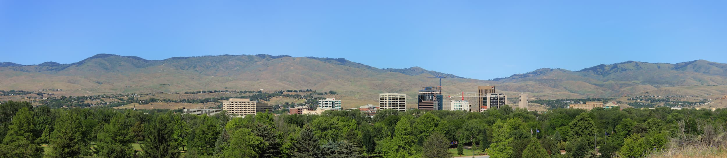 Skyline of Boise