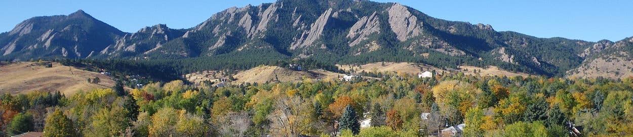 Skyline of Boulder
