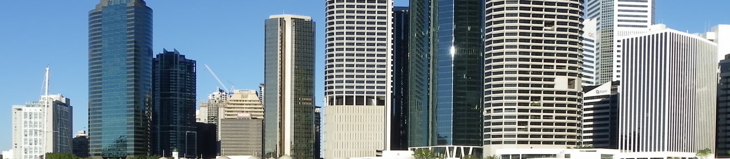 Skyline of Brisbane