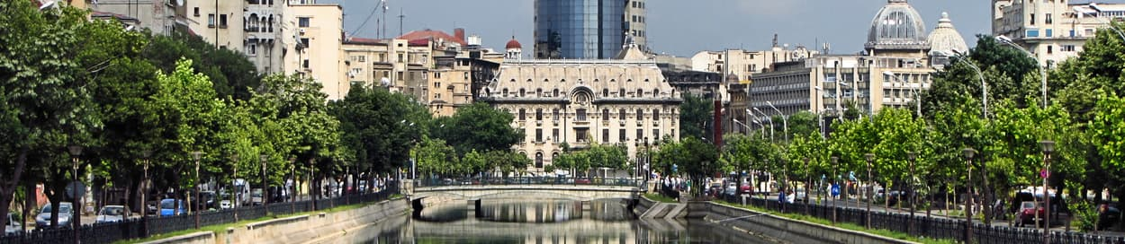 Skyline of Bucharest