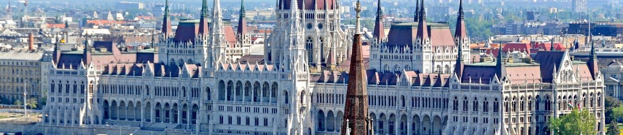 Skyline of Budapest