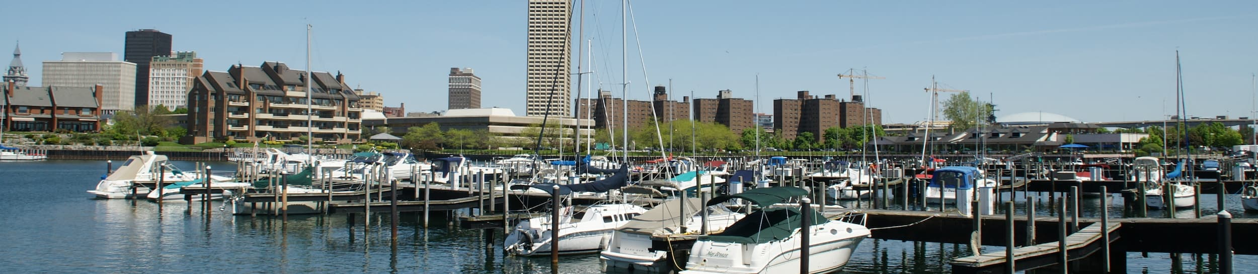 Pictured: skyline of Buffalo