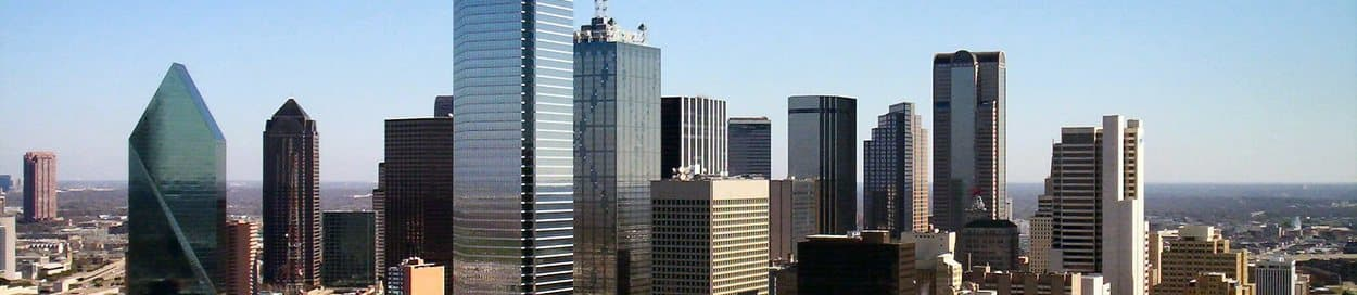 Pictured: skyline of Dallas