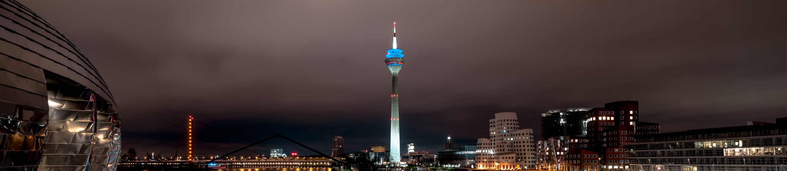 Skyline of Dusseldorf