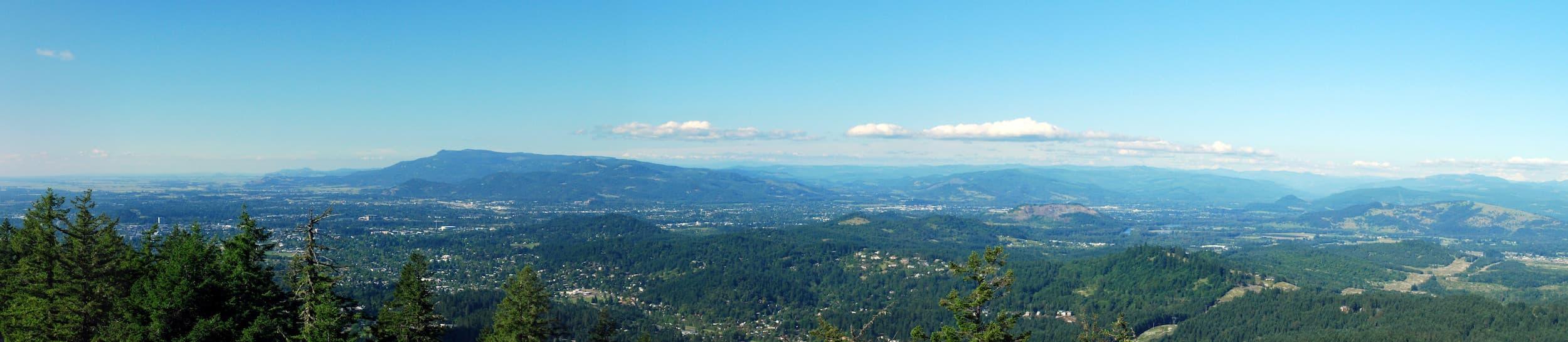 Skyline of Eugene