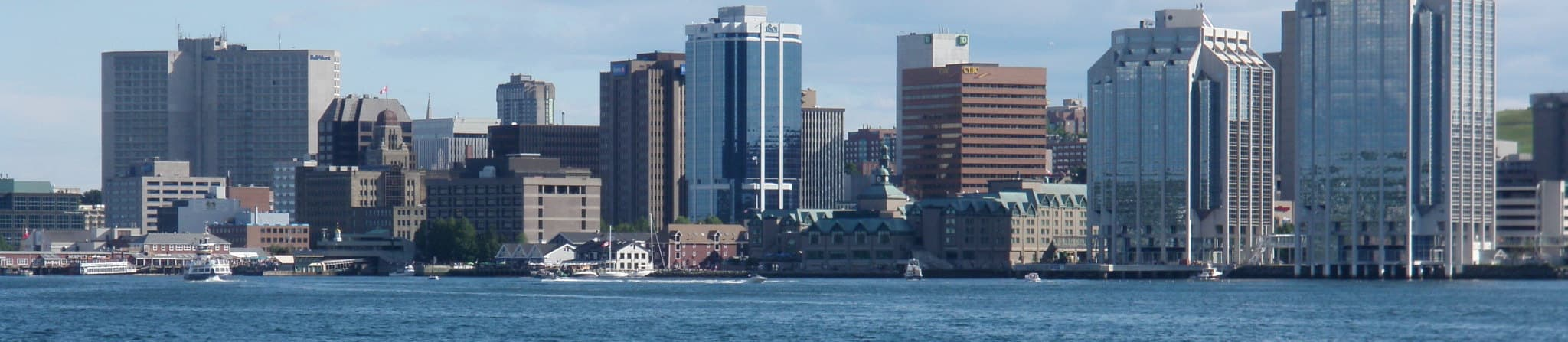 Pictured: skyline of Halifax