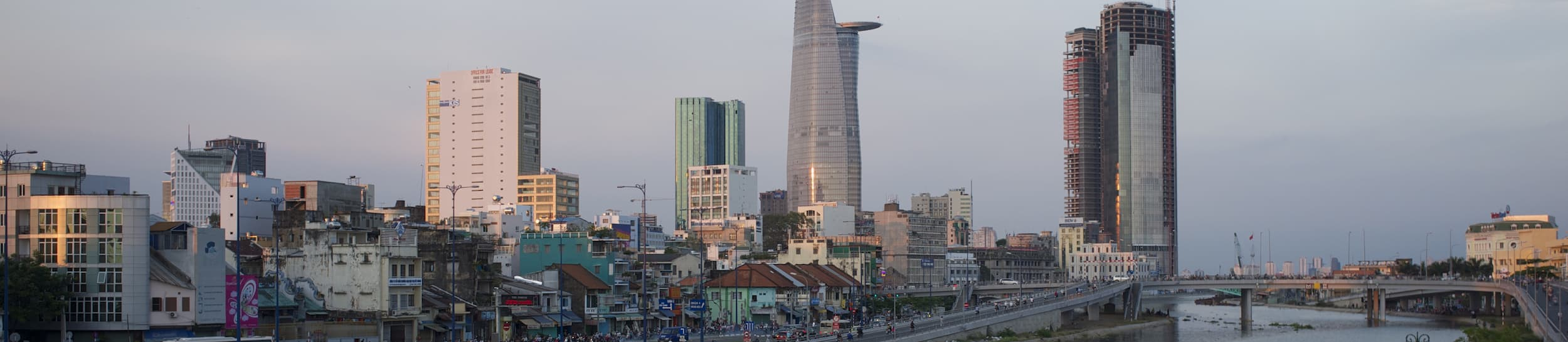 Skyline of Ho Chi Minh City