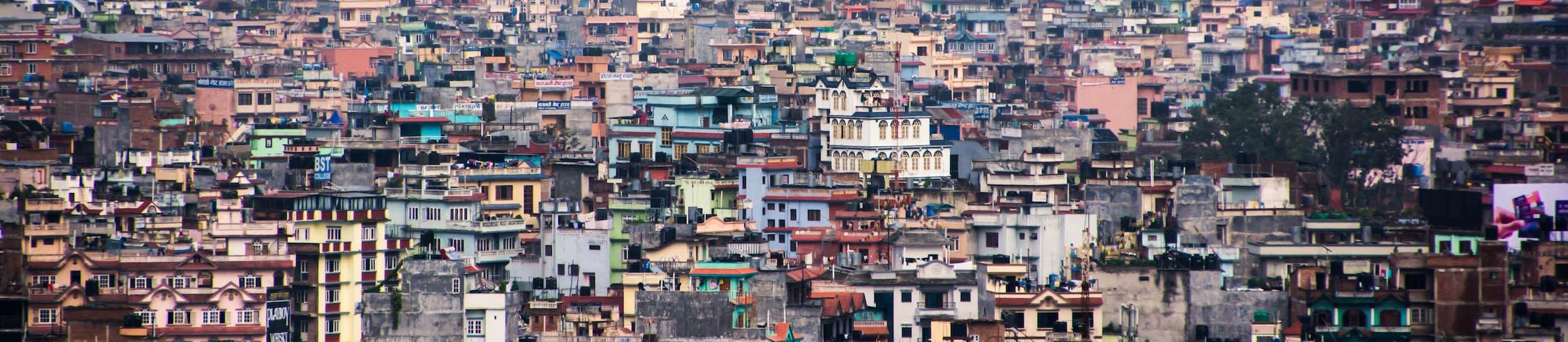 Skyline of Kathmandu