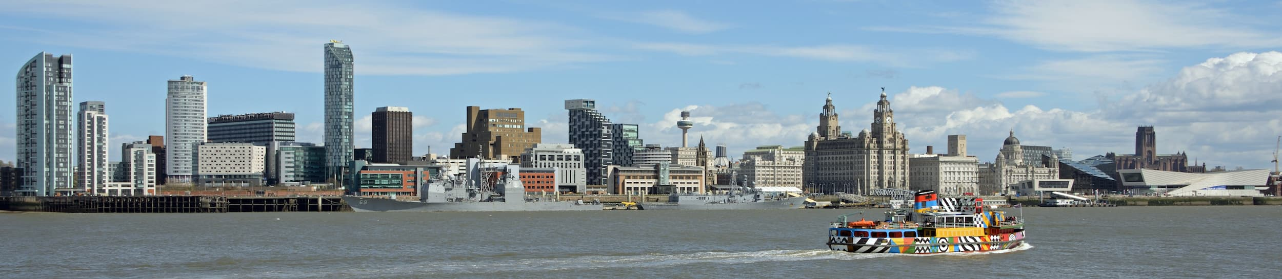 Skyline of Birkenhead