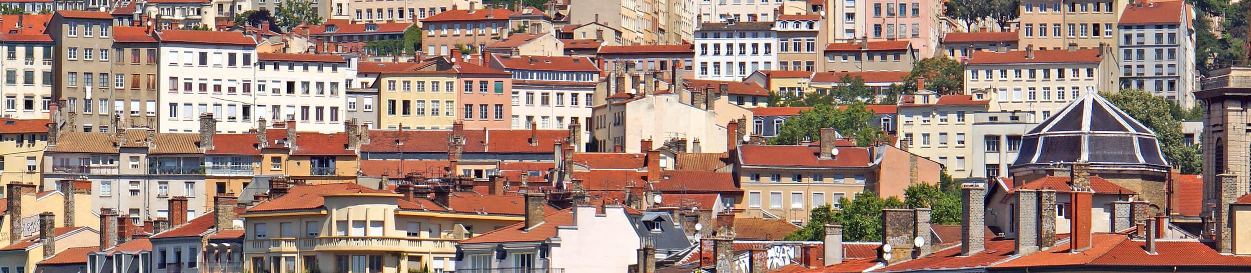 Skyline of Lyon