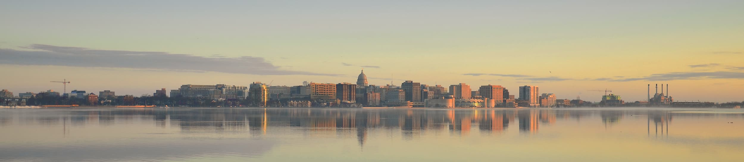 Pictured: skyline of Madison