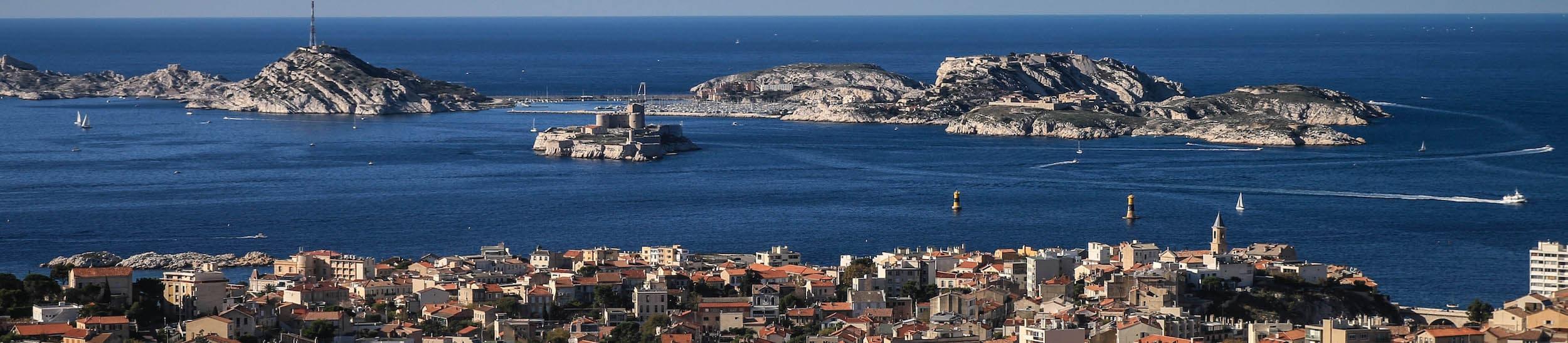Skyline of Marseille