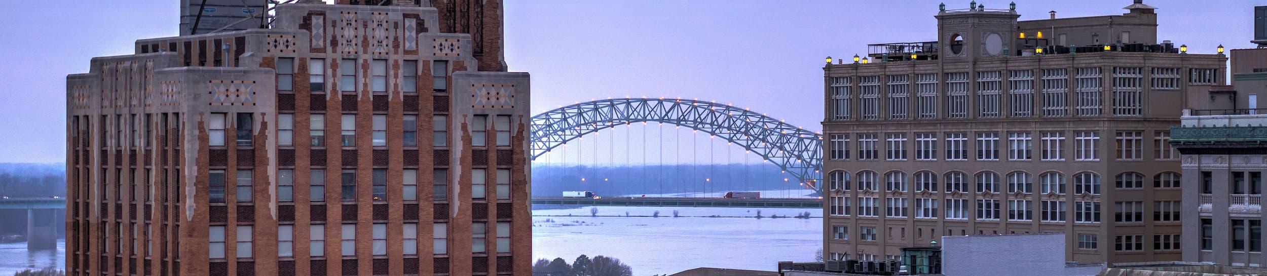 Skyline of Memphis
