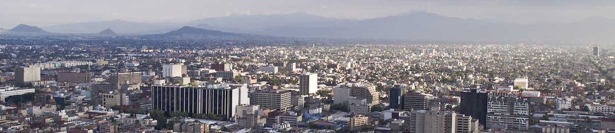 Skyline of Mexico City