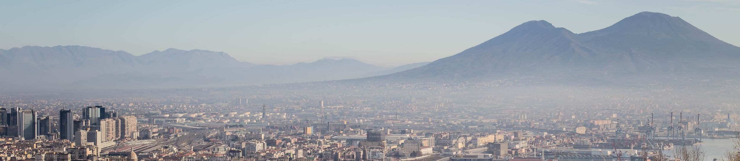 Skyline of Naples