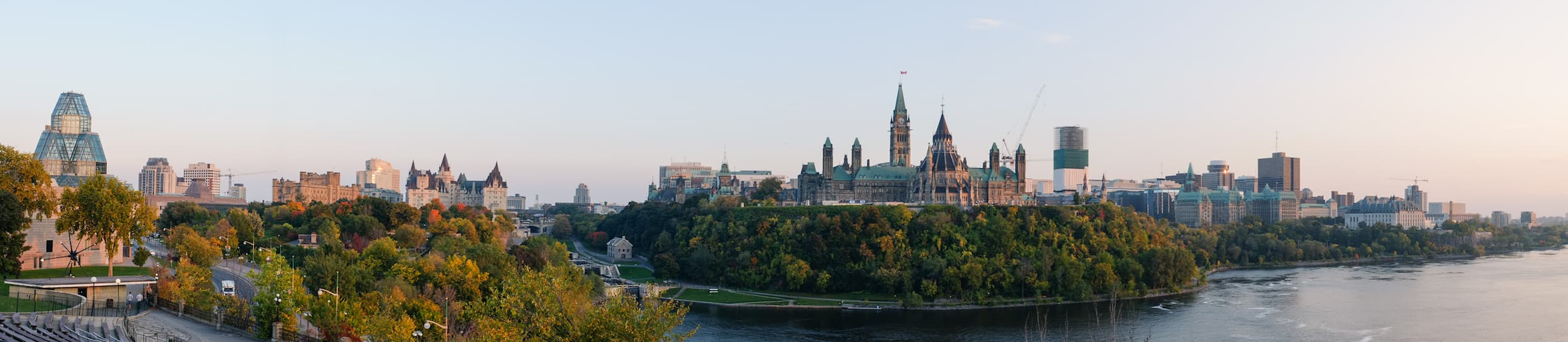 Pictured: skyline of Ottawa