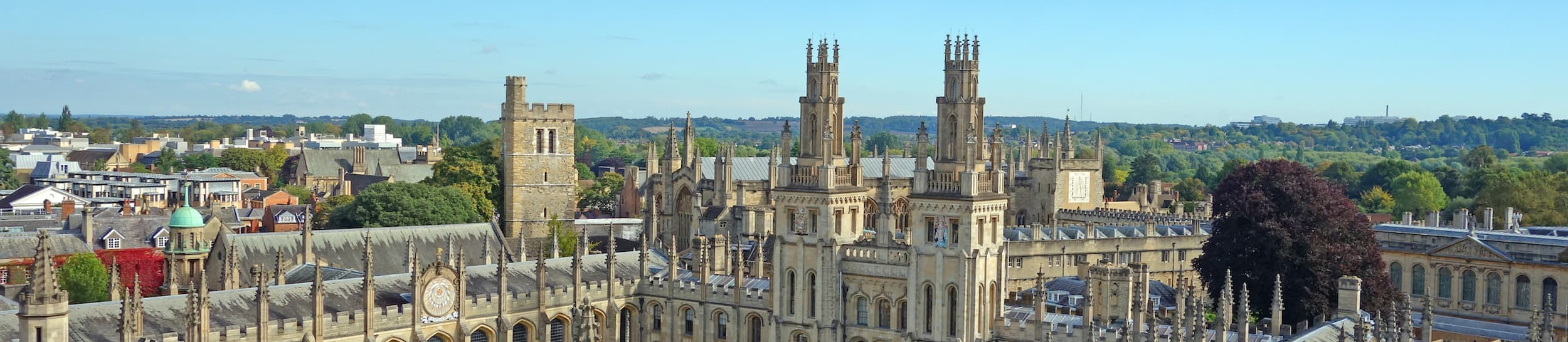 Skyline of Oxford