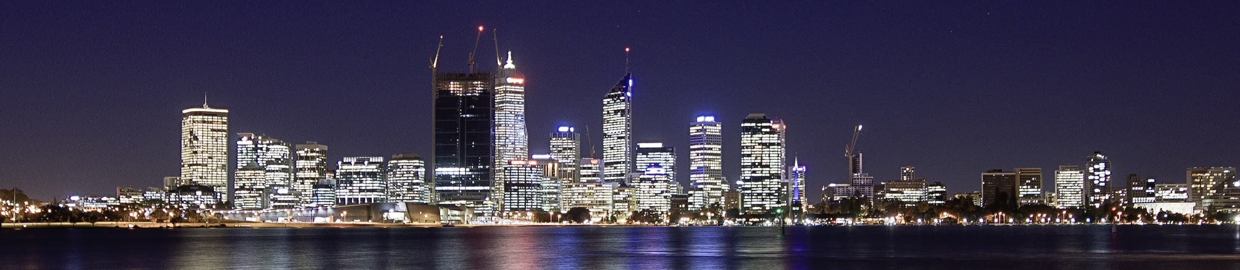Pictured: skyline of Perth