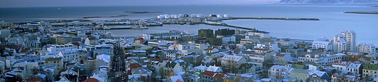 Skyline of Reykjavik