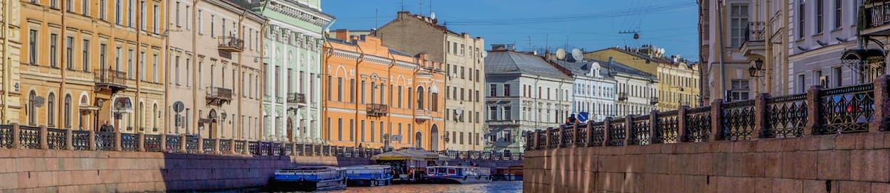 Skyline of Saint Petersburg