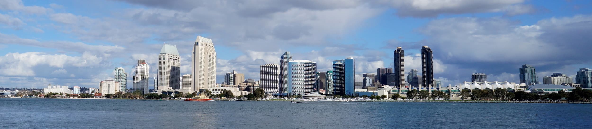 Skyline of San Diego