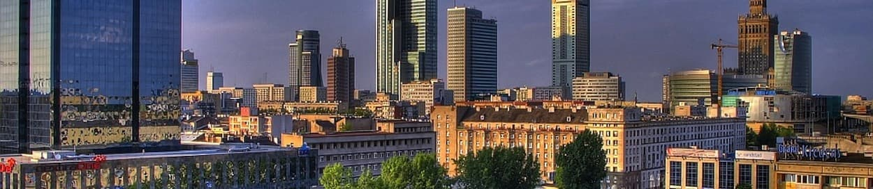 Skyline of Warsaw